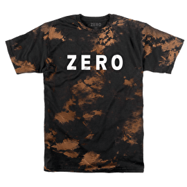Zero Army T-Shirt - Black/Bleached