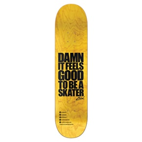 Blind Skateboard Deck - Damn Plantlife Black/White 8