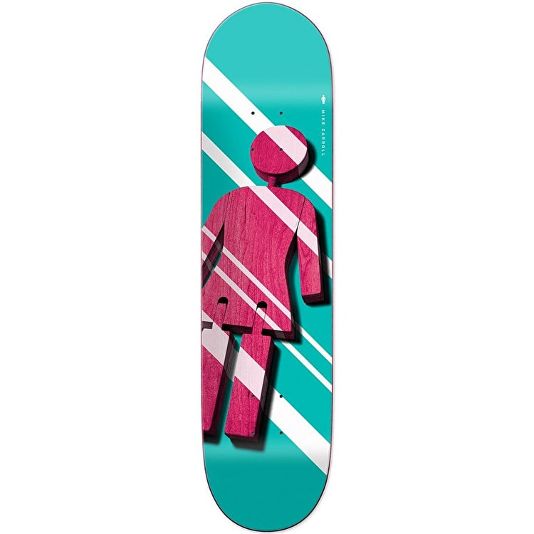 Girl Shutter OG - Mike Carroll Skateboard Deck 8.375""