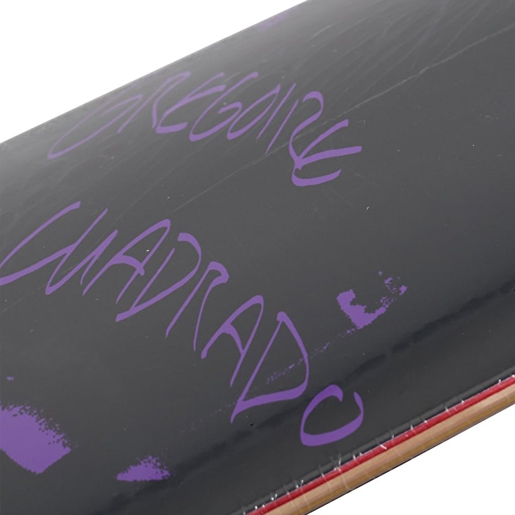 National Skateboard Co Gregoire Cuadrado x Catalogue Skateboard Deck - Purple 8.25""