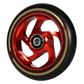 AO Mandala 110mm Scooter Wheel - Red