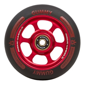 Rogue Gummy 110mm Scooter Wheel - Black/Red