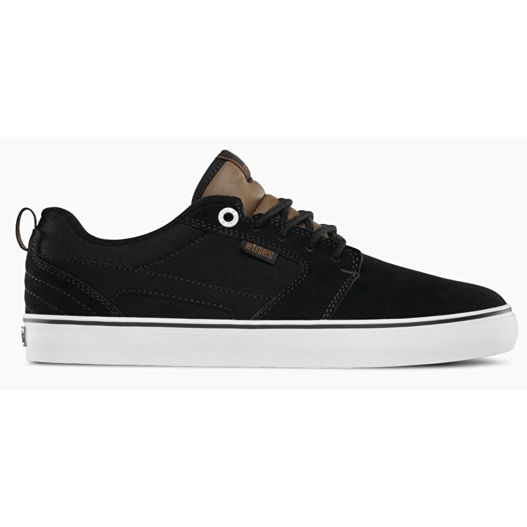 Etnies Rap CT Skate Shoes - Black/Brown