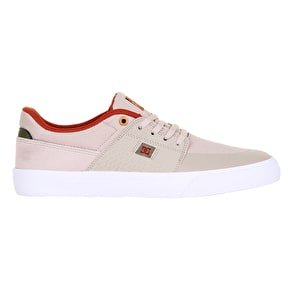 DC Wes Kremer Skate Shoes - Tan/Brown