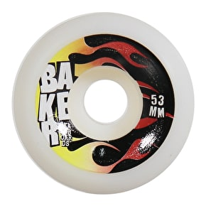 Baker Flames Conical Skateboard Wheels - 53mm