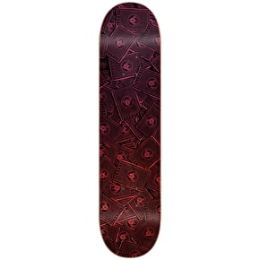Darkstar Player HYB Skateboard Deck - Red 8