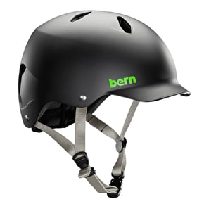 Bern Bandito EPS Youth Helmet - Matte Black