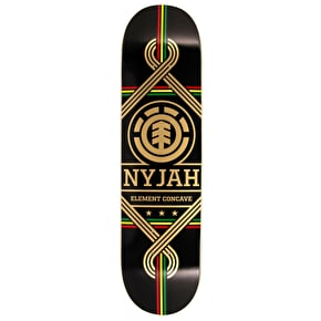 Element Nyjah Concave King Skateboard Deck - 8.125