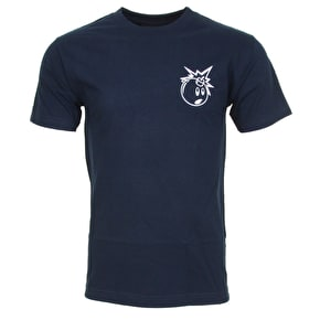 The Hundreds Forever Simple Adam T-Shirt - Navy