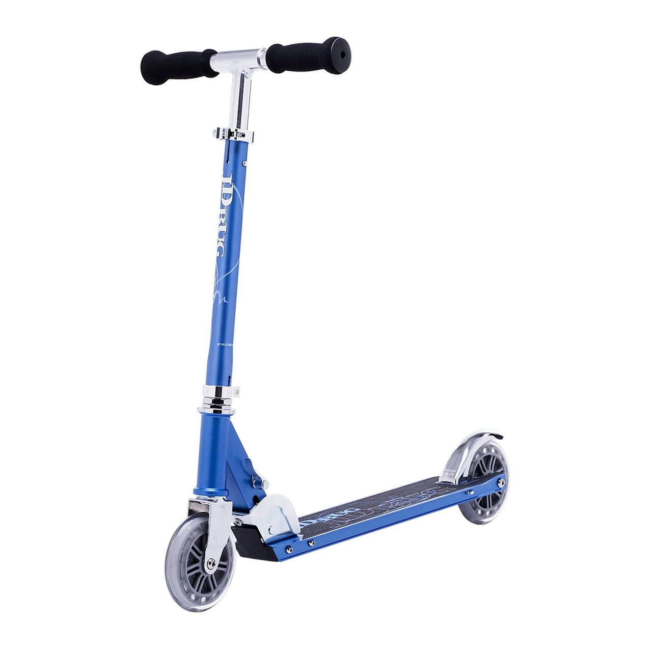 JD Bug Classic Street 120 Folding Scooter  Reflex Blue