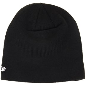 New Era Original Skull Fit Beanie- Black