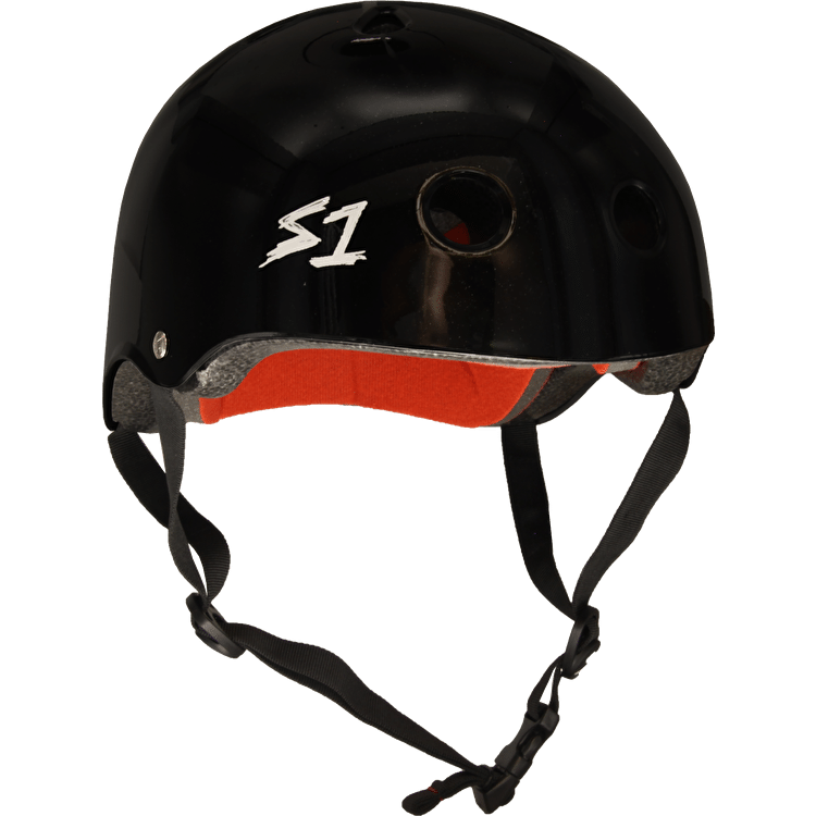 S1 'Lifer' Multi Impact Helmet- Black Glitter