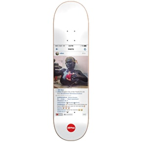 Almost Insta Gold Impact Light Skateboard Deck - Willow 8