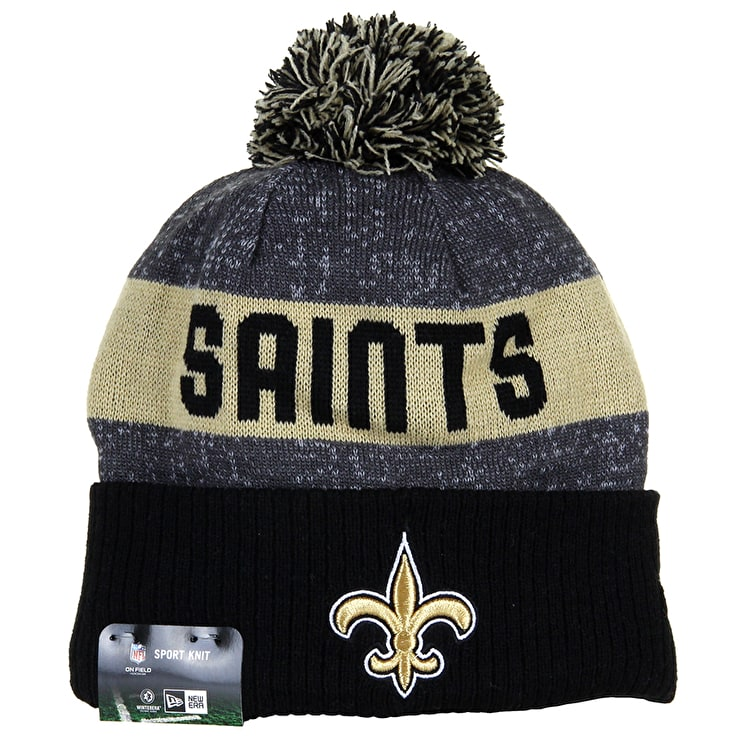 New Era Sideline Beanie - New Orleans Saints