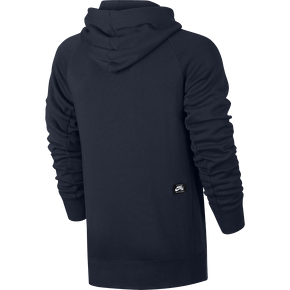 Nike SB Icon Banner Pullover Hoodie - Obsidian