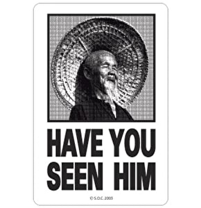 Powell Peralta Have You Seen Him Skateboard Sticker - M