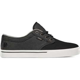 Etnies Jameson 2 Eco Skate Shoes - Black/White/Gold