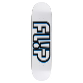 Flip Odyssey Depth Skateboard Deck - White 8