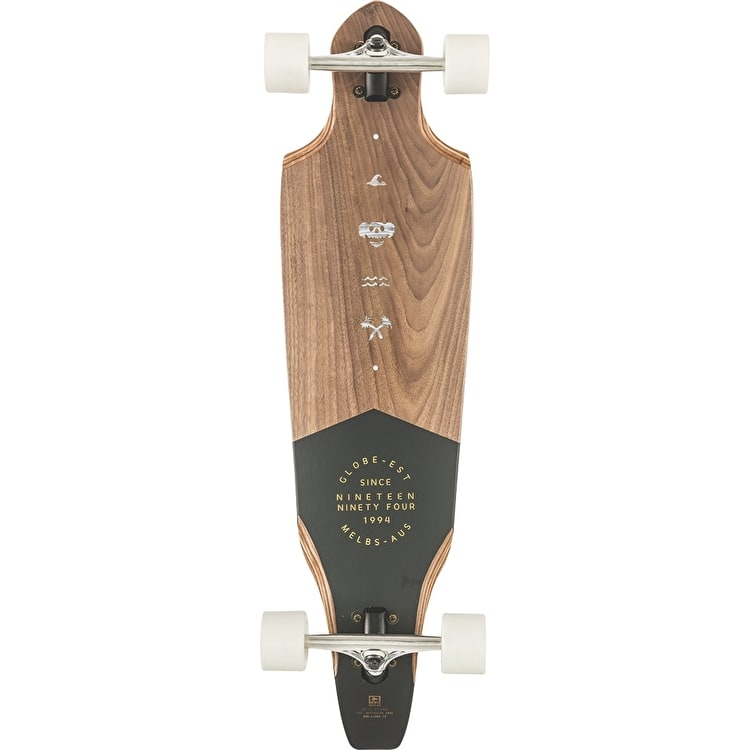"Globe The Cutler 36"" Complete Longboard - Walnut"