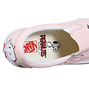 Vans x Peanuts Classic Slip-On Shoes - Smack/Pearl