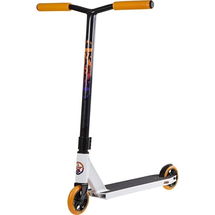 5Starr Sector 5 V2 Pro Complete Scooter - White/Orange
