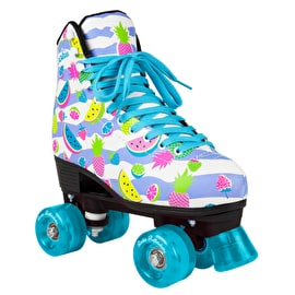 Rookie Fruits Quad Roller Skates - White/Multi