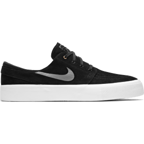 Nike SB Zoom Janoski HT Skate Shoes - Black/Dark Grey