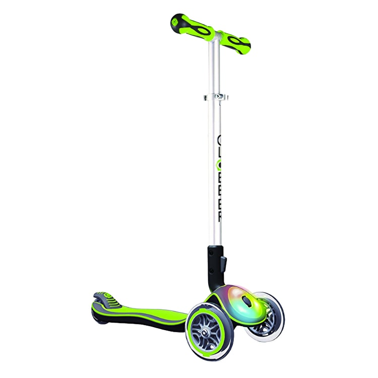 Globber Elite Flash Complete Scooter - Lime Green
