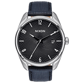 Nixon Bullet Leather Ladies Watch - Black