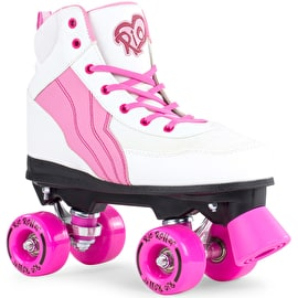 Rio Roller Pure Quad Roller Skates - White/Pink