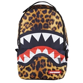 Sprayground Lil Leopard Shark Mini Backpack