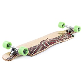 B-Stock Mindless Wreather II Drop-Through Complete Longboard 41''