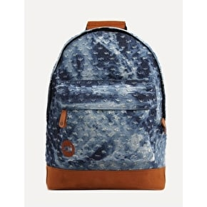 Mi-Pac Denim Backpack - Distressed