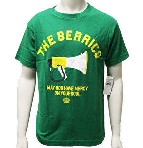 The Berrics Kids Megaphone T-Shirt - Kelly Green