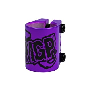 MGP Triple  Collar Clamp - Purple