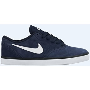 Nike SB Check Shoes - Obsidian/White