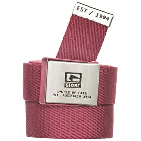 Globe Redman Belt - Burgundy