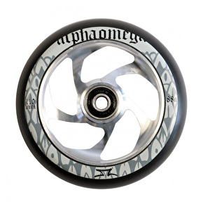 AO Delta 110mm Wheel incl Bearings- Silver