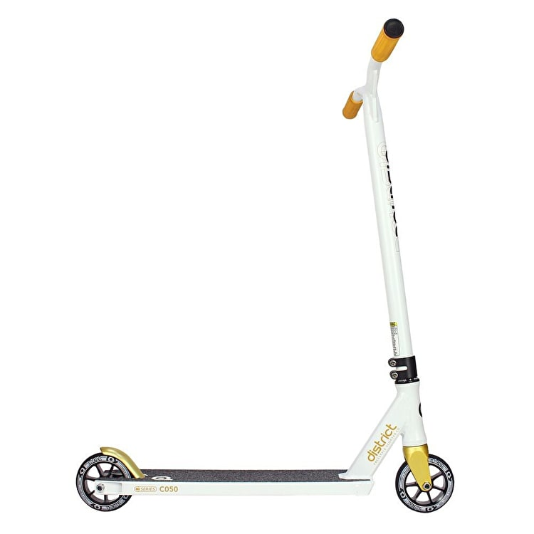 District 2018 C-Series C050 Complete Scooter - White/Gold