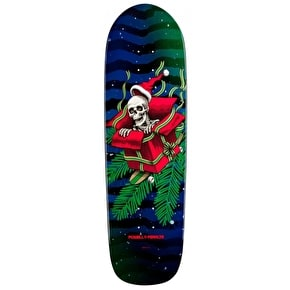 Powell Peralta Skateboard Deck - Xmas Green/Red 9.5