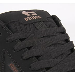 Etnies Fader 2 Skate Shoes - Black/Gum