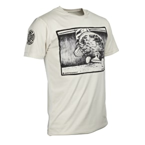 Independent Grind 'Em Down T-Shirt - Bone