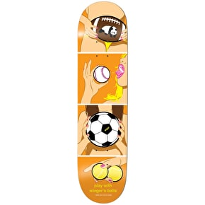 Enjoi Skateboard Deck - How To R7 Wieger 8.375
