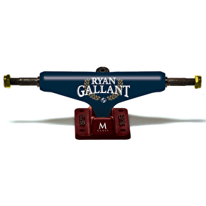 Silver M-Class Skateboard Trucks - Gallant Lager - 8.2