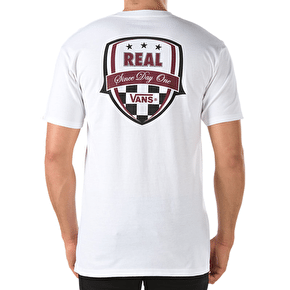Vans x Real T-Shirt - White