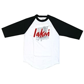 Lakai x Chocolate 20 Year Raglan - Black/White