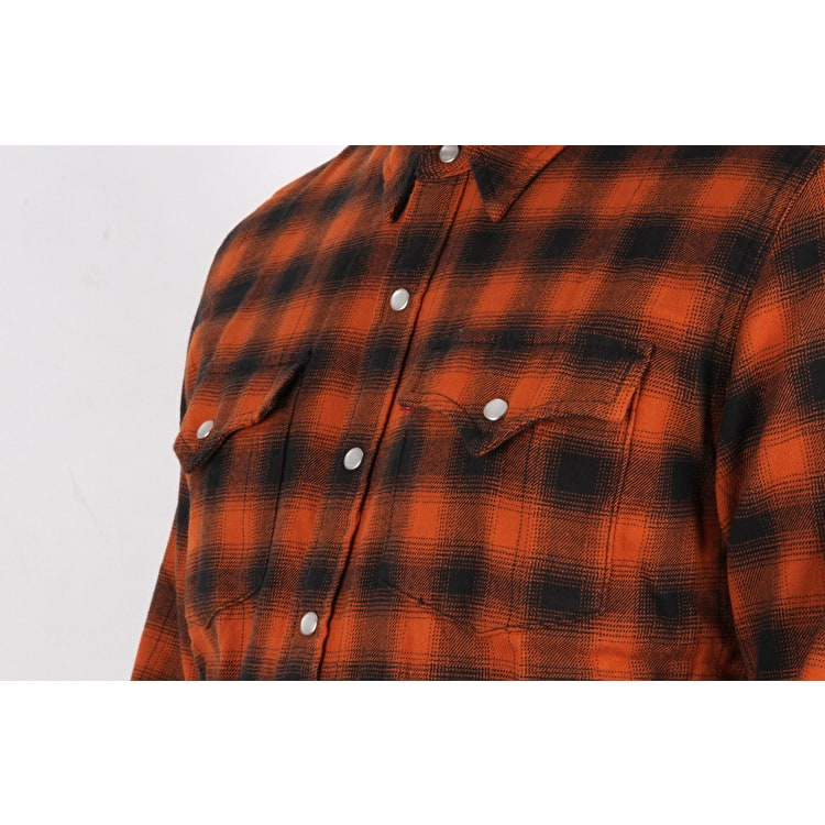 Levi's Western Long Sleeve Shirt - Nilgai Bombay Brown