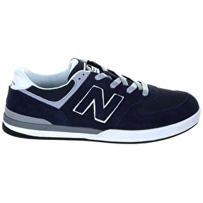 B-Stock New Balance Logan-S 636 Shoes - Navy Grey - UK 7 (Box Damage)
