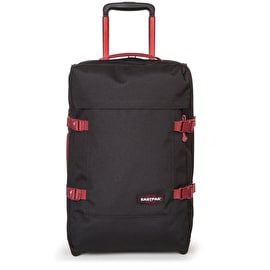 Eastpak Tranverz S Wheeled Luggage - Black/Red