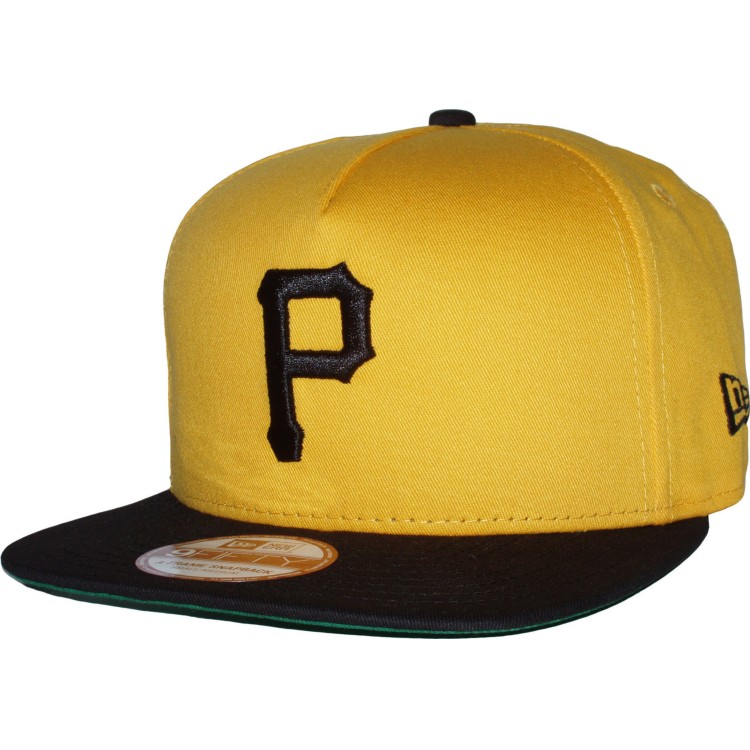 New Era Said Snap Reverse Pittsburgh Pirates Snapback Yellow Black